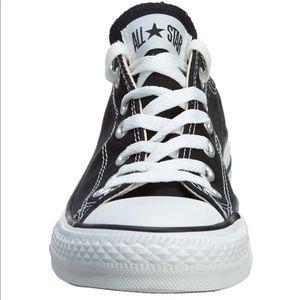 Womans 12.5 Black All Star Converse -Chuck Taylors